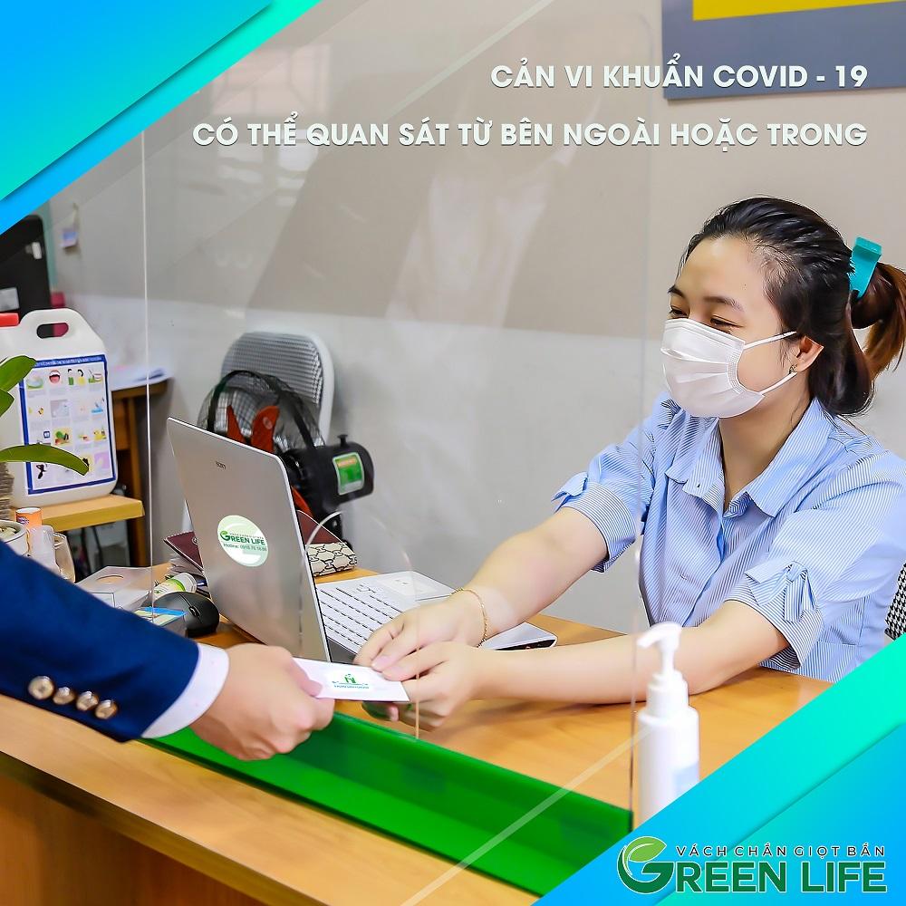 Campaign : Ra mắt sản phẩm mới Vách chắn giọt bắn – Green Life